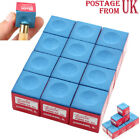 Wholesale!12/24/36 Pieces Blue Snooker or Pool Cue Tip Chalk £6.95 GBP on eBay