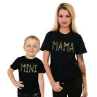 Mama And Mini Mum Mother Son Camoflage Mothers Day Matching T shirts Gift MA2
