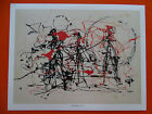 """Jackson Pollock, high quality art prints, 12"""" x 15 3/8,"""" Abstract Expressionism"""