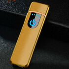 USB Electric Dual Arc Flame-less Torch Rechargeable Windproof Lighter
