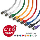 40G Cat.8 Shielded S/FTP Ethernet Network Cable 2GHz 40G, super fast cable