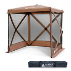 """Leader Accessories Pop Up Canopies Hub screen house 72"""" x 72"""" x 82"""""""