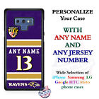 Baltimore Ravens A18 Personalized Football Phone Case Cover fits Samsung etc. $28.98 USD on eBay