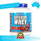 International Protein Superior Whey 2.27kg BCAA WPI WPC Peptite Blend Isolate