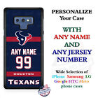 Houston Texans A18 Personalized Football Phone Case Cover fits Samsung LG etc. $25.98 USD on eBay