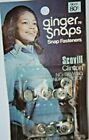 NOS Vintage Ginger Snaps SNAP FASTENERS Buttons Western Shirt Scovill USA No.17