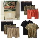 Mossy Oak Camouflage Hunting Camping Boxer Briefs & T-Shirts~S~M~L~XL~XXL