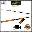 New! St.Croix Triumph Salmon & Steelhead Spinning Fishing Rod (Various Models) $129.99 USD on eBay