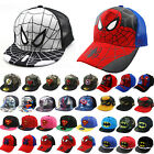 Kids Boys Girls Superhero Baseball Cap Hip Hop Trucker Snapback Sport Peak Hat