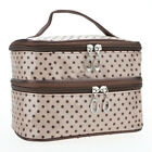 Travel Large Multifunction Cosmetic Organizer Pouch Toiletry Case Makeup Zip Bag