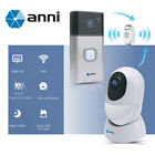 Anni 1080P Wireless Video Doorbell / RTOS Battery Security Camera With Gateway