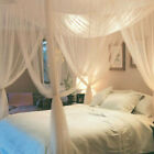 Lace Insect Bed Canopy Netting Curtain Dome Mosquito Net 4 Doors Open Bedding image