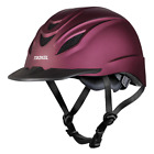 Troxel Riding Helmet Intrepid Mulberry Duratec Horse Safety Low Profile Equine
