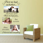 Wall Art Vinyl Sticker Removable First we had each other S, M, L