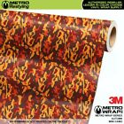 MINI AUTUMN Camouflage Vinyl Vehicle Car Wrap Camo Film Sheet Roll Adhesive