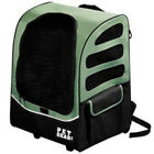 """Pet Gear I-GO2 PLUS Traveler Small 22"""" Rolling Backpack Travel Pet Carrier"""