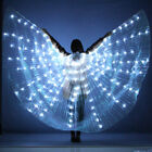 Women Belly Dance Isis Wings Opening 360 degree LED Shining Wing with Sticks