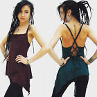 PIXIE TOP Fairy Top Yoga Top tie up top  backless vest top  FREE Post UK