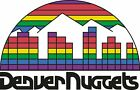 Denver Nuggets Throwback Main logo Vinyl Decal / Sticker 5 Sizes!!