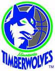 Minnesota Timberwolves Throwback LOGO Vinyl Decal / Sticker 5 Sizes!!