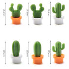 US 6pcs Set Fridge Magnets Succulent Cactus Plant Magnet Button Sticker Decor AI