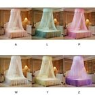 Round Lace Insect Bed Canopy Netting Curtain Dome Mosquito Net Elegant Summer US image