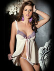 Sexy Fly-A-Way Babydoll Set (Lingerie Set) Valentine's Day
