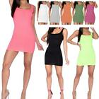 New Square Neck Ribbed Sleeveless Ladies Bodycon Summer Mini Dress