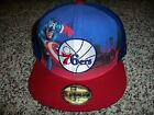 PHILADELPHIA 76ERS New NWT Captain America Mens New Era Fitted HAT CAP LID on eBay