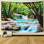 Scenery Wall Tapestry Tree Stream Print Wall Hanging Art Living Room Home Decor
