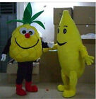 Advertising Fruit Pineapple Mascot Costume Suit Cosplay Party Clothing Dress Hot