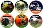 NFL Football Round Helmet Window Bumper Decal Sticker on eBay