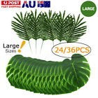 Au Artificial Fake Lifelike Tropical Palm Leaves For Home Party Decoration Gift