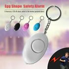 Emergency Personal Alarm Keychain Safe Sound Women Kid Self Defense Alarms QT