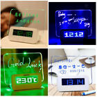 Monique Board Clock with Highlighter Show Time Calendar Temperature