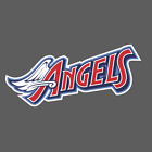 Los Angeles Anaheim Angels Vintage Logo 1997-2001 Sticker Vinyl Vehicle Decal on Ebay
