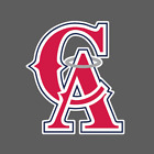 Los Angeles California Angels Vintage Logo 1993-1996 Sticker Vinyl Vehicle Decal on Ebay