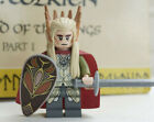 Lord of the Rings Lego and custom mini figures gandalf legolas aragorn tolkien