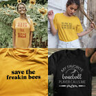 Hug More Trees Clean Our Seas & Save The Bees T-shirt Protect Environment Tee