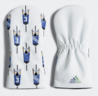 Adidas Golf Adicross Driver Club Head Cover White CJ1460 Limited Qt Available