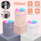 Essential Oil Diffuser Humidifier Air Aromatherapy LED light Ultrasonic Aroma US