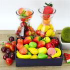 20pcs Simulation Mini Small Fake Fruits Vegetables Model Decoration DIY Home HS