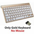 2.4G Wireless Keyboard and Mouse Mini Multimedia Keyboard Mouse Combo Set For