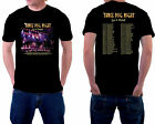 Three Dog Night Tour 2019 Tshirt With Tour Date Black Color Sale Design S-2XL