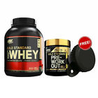 Optimum Nutrition Protein Gold Standard Whey 3.3lbs + Pre Workout WPI 30 Serves