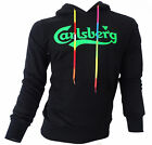 Sweatshirt Shirt Carlsberg Men Herren Hoodie Hood 100% Baumwolle Made in Italy