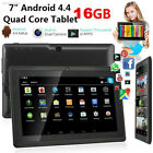 7 android tablet pc quad core hd touch screen dual camera bluetooth wifi 16gb