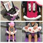 Baby Safety Pram Handle Artificial Pushchair Stroller Armrest Protective Cover W
