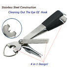 2 In 1 Multi-functional Quick Knot Stainless Steel Fishing Pliers Fishing Tools