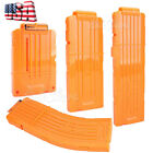 USA 6 12 15 Quick Reload Darts Bullet Ammo Clip Magazine for Nerf N-Strike Elite